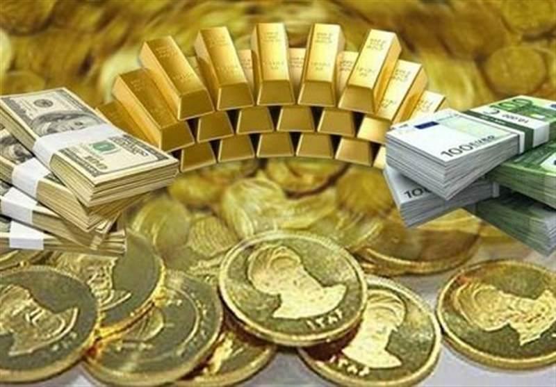 قیمت طلا، سکه و ارز امروز ۹۹/۰۹/۰۳