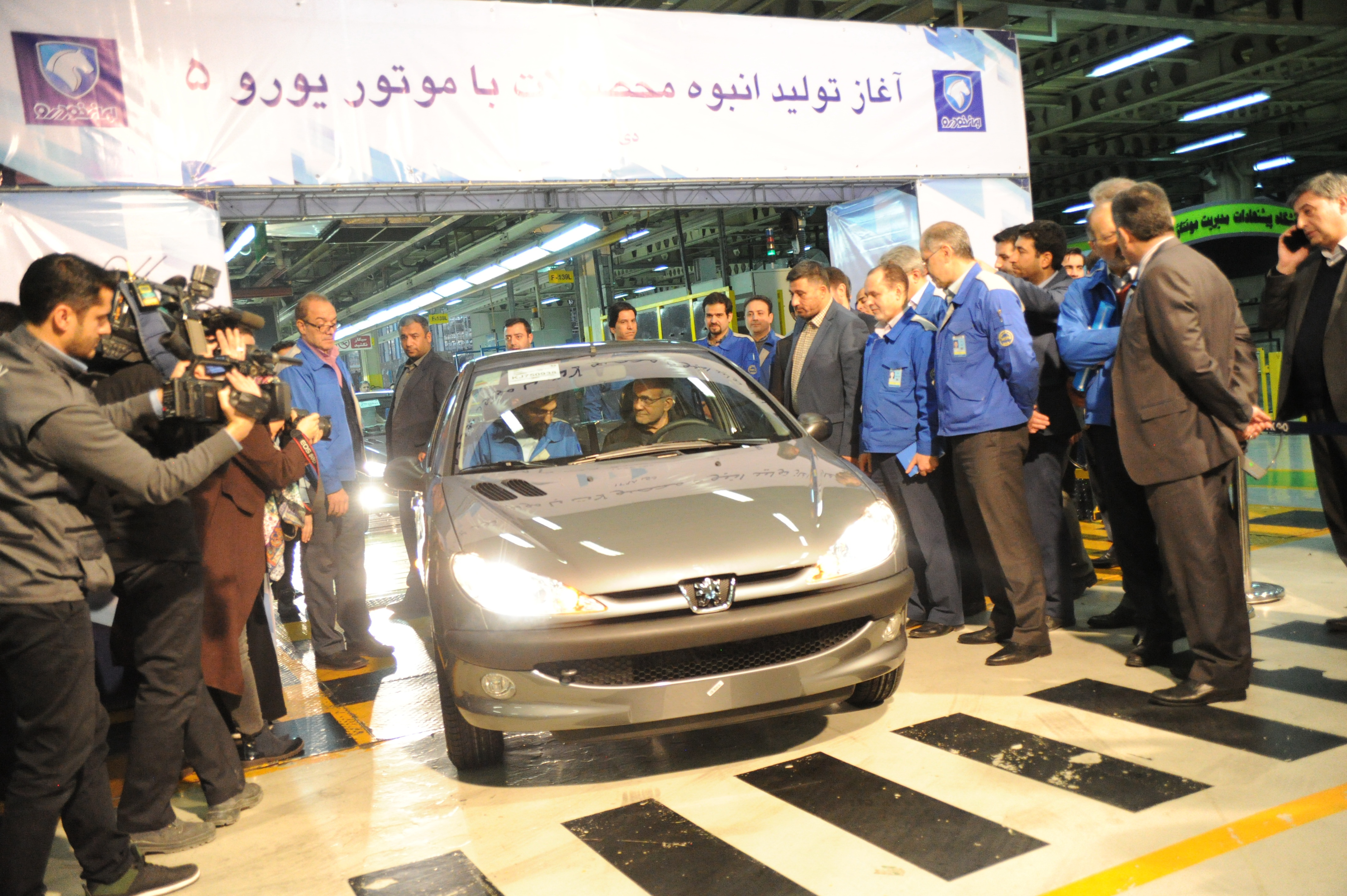 آغاز تولید انبوه محصولات ایران خودرو با استاندارد یورو ۵