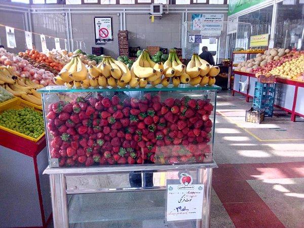 قیمت نوبرانههای بهاره در میادین میوه و ترهبار